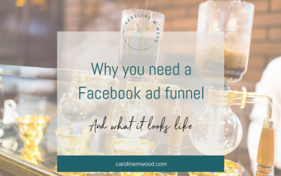 Why you need a Facebook ad funnel and what it looks like