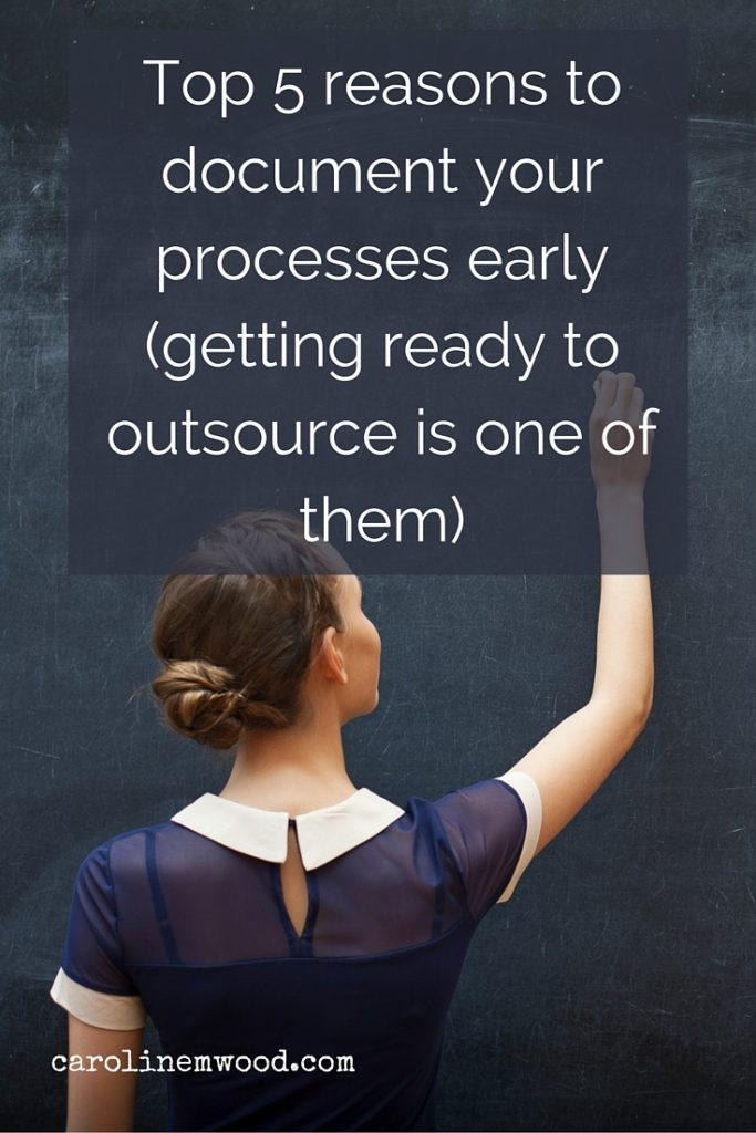 Document your processes