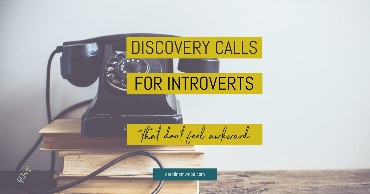 Discovery calls for introverts
