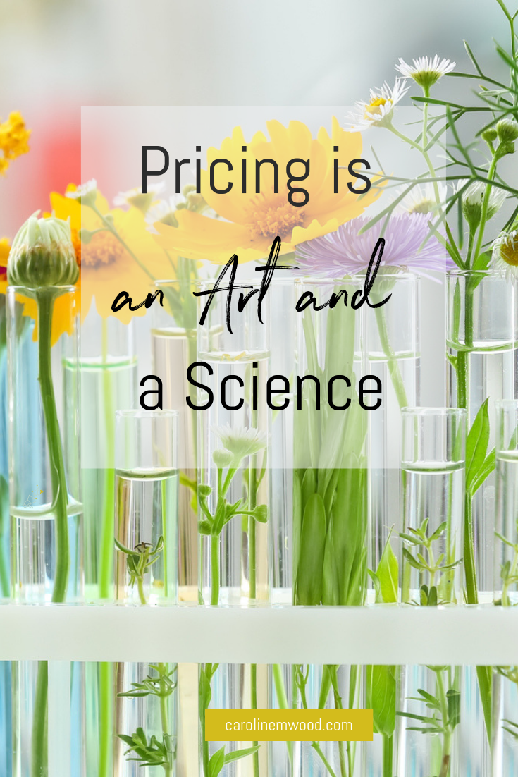 Pricing is an art and a science