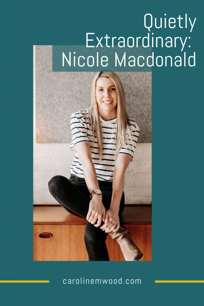 Nicole Macdonald January Made Design